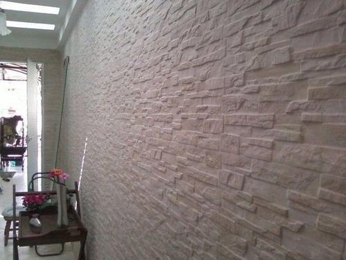 Placas decorativas mosaico gesso 3d canjiquinha pre o m2 r 47 88 em mercado livre - Placas decorativas para pared interior ...