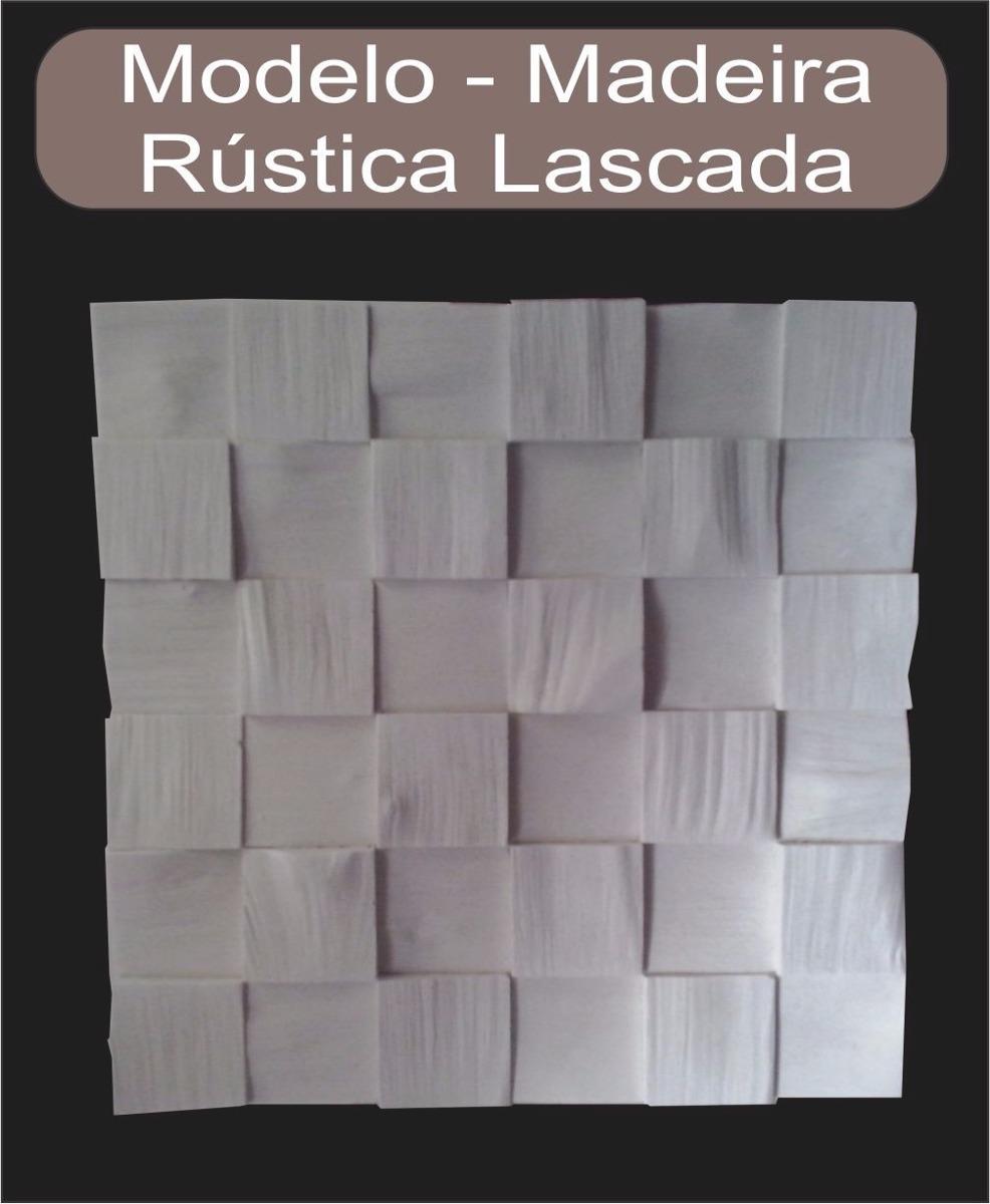 Placas decorativas mosaico gesso 3d madeira lascada - Placas decorativas para pared interior ...
