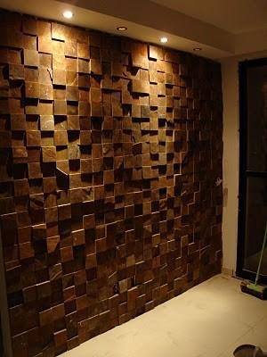 Placas decorativas mosaico gesso 3d madeira lascada - Como pintar mosaicos ...