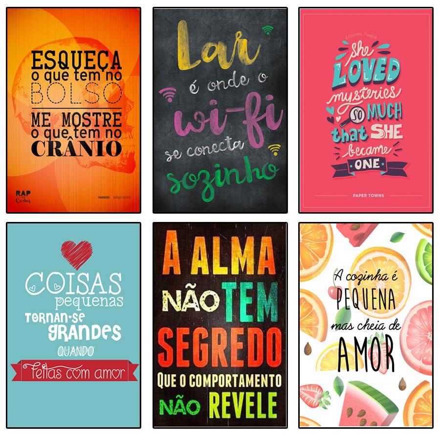 Placas decorativas mpf placa plaquinhas frases retro cozinha r 24 90 em mercado livre - Placas pared decorativas ...