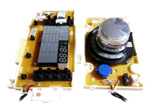 placas do display e controle máquina lg titan16kg wd1316ada7