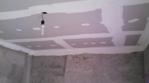 placas durlock cielorraso materiales y mo colocado metro 2