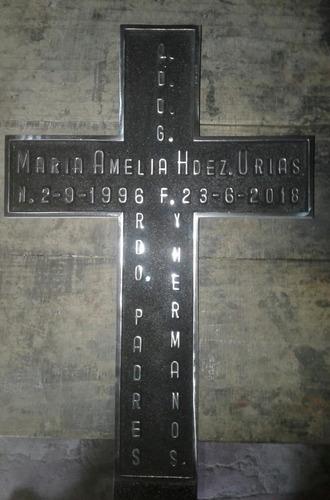 placas en marmol y metal san salvador #76684723