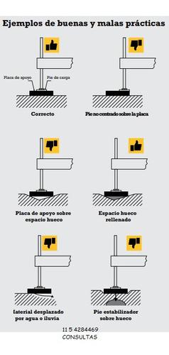 placas estabilizadoras para gruas hidrogruas elevadores mani