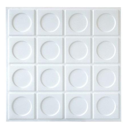 Placas forro revestimento pvc 3d 50cm x 50cm r 28 94 em for Placas pvc para paredes