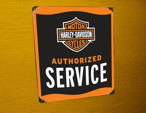 placas harley davidson motorcycles vintage