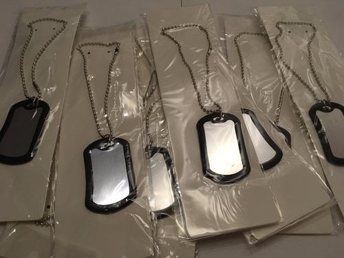 placas identificacion collares