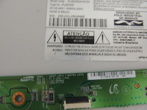 placas logic buffer tv samsung pl42c430a1 .