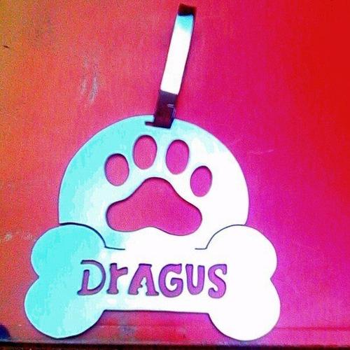 placas mascotas  identificadoras  artistas online