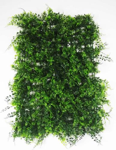 placas muro vegetal samambaias verdes painel inglês 40x60 cm