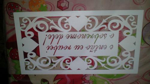 placas nunca usadas para casamento