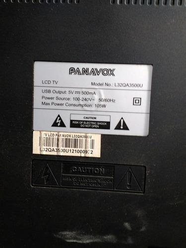 placas panavox modelo lcd