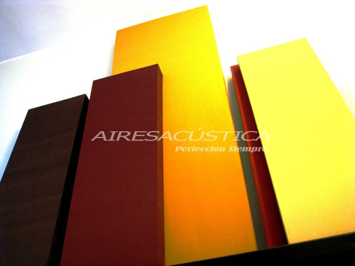 placas paneles acústicos a medida color y diseño a elección