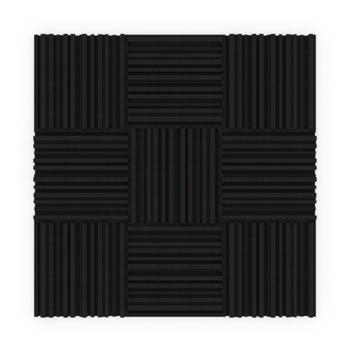 placas paneles acústicos city basic 50cm x50cm x50mm musycom