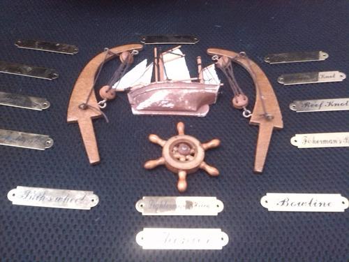 placas para armar cuadro de nudos marineros