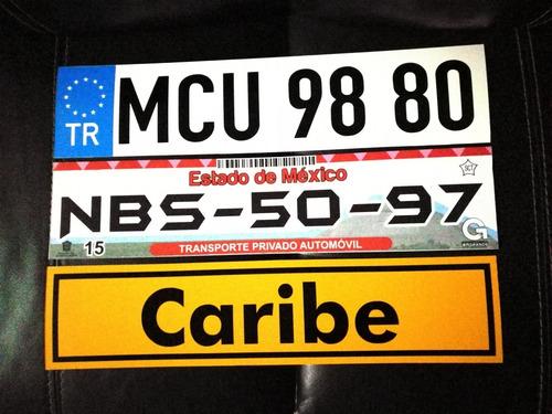 placas para auto