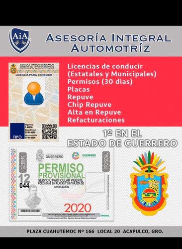 placas, permisos de circulación, licencias fb:nayade garibay