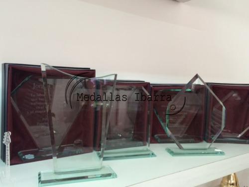 placas recordatorios premios grabados