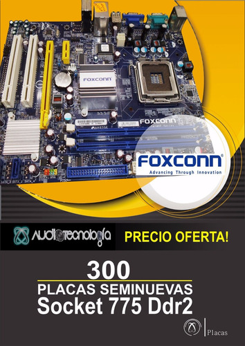 placas seminuevas de remate socket 775 ddr2