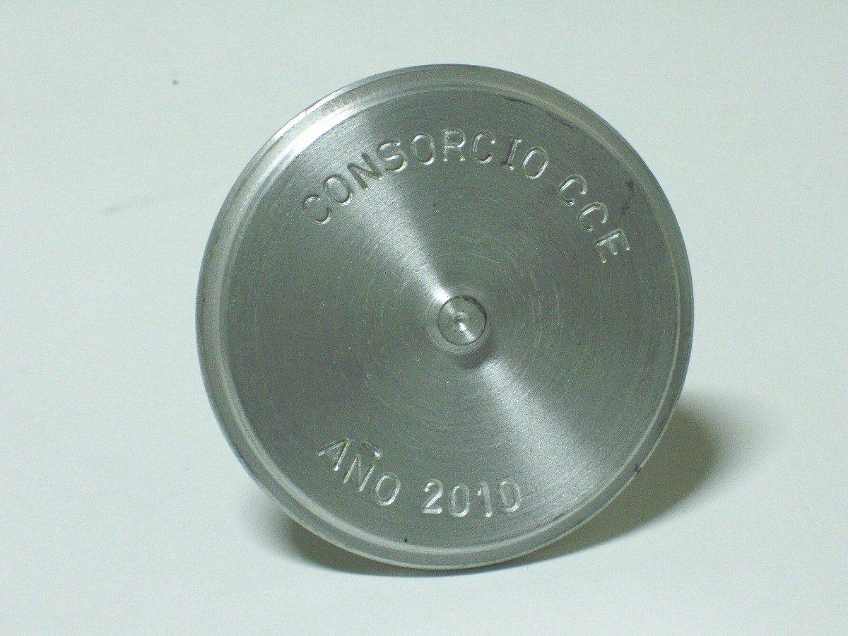 Placas topogr ficas en aluminio torneadas 7 5cm de - Placas de aluminio ...