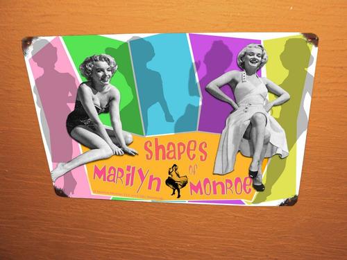 placas vintage marilyn monroe