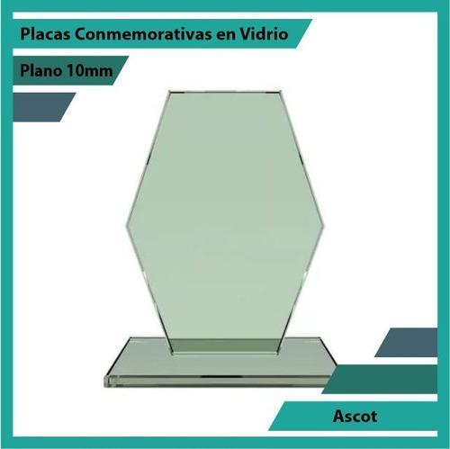 placas y trofeos en vidrio ascot pulido plano 10mm