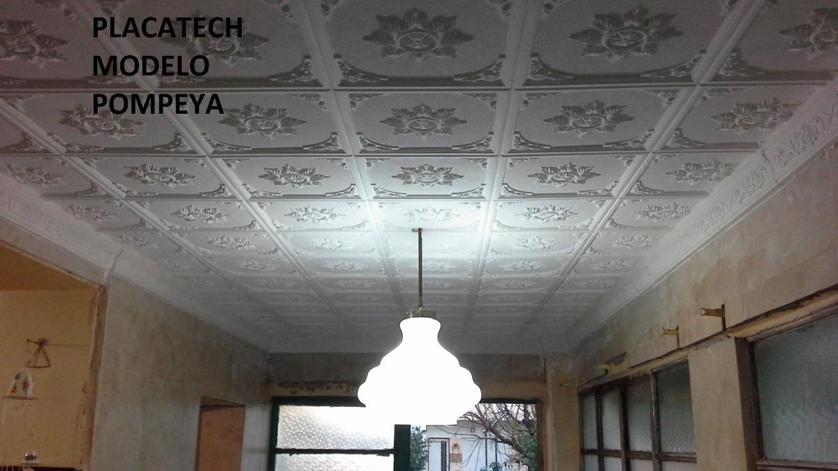 Placatech placas antihumedad decorativas techo y pared - Placas decorativas para techos ...
