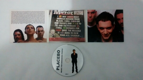 placebo cd music for demanding people