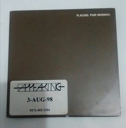 placebo cd single pure morning