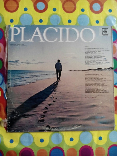 placido domingo lp my life for a song, 1983