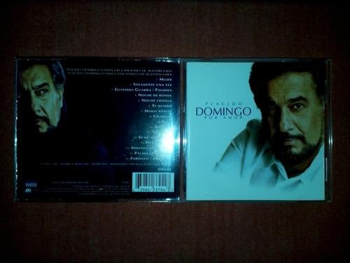 placido domingo - por amor cd usa ed 1998 mdisk