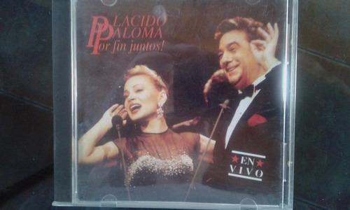 plácido paloma por fin juntos! en vivo + los tenores 5 cd!!!