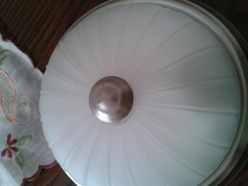 plafon 1 luz takka blanco / satin  neut light
