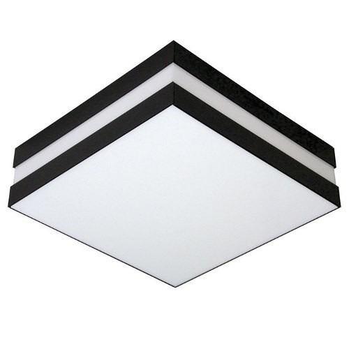 plafon acrilico 30 cm com preto