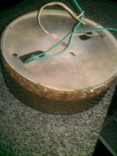 plafon antiguo para 2 lamparas muy lindo!