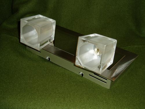 plafon aplique bipin 2 l-excelente iluminacion-apto leds