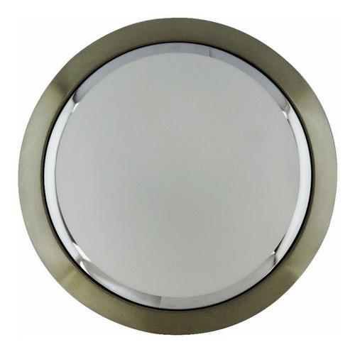 plafon cristal, alfaluz lumistar, pack3 pf5001-m redondo