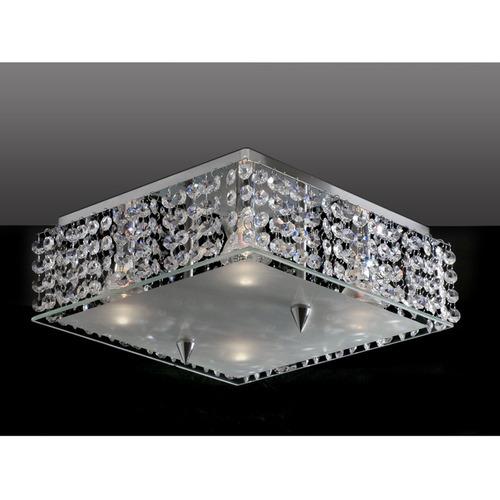 plafon cristal quadrado 30x30 - frete grátis torres