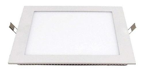 plafón cuadrado, sistema led integrado 6w 3000k - ixec ix202