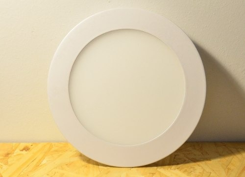plafon de embutir techo led 9w color blanco frio