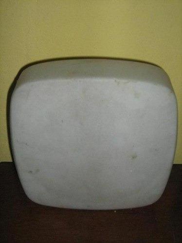 plafon de vidrio blanco