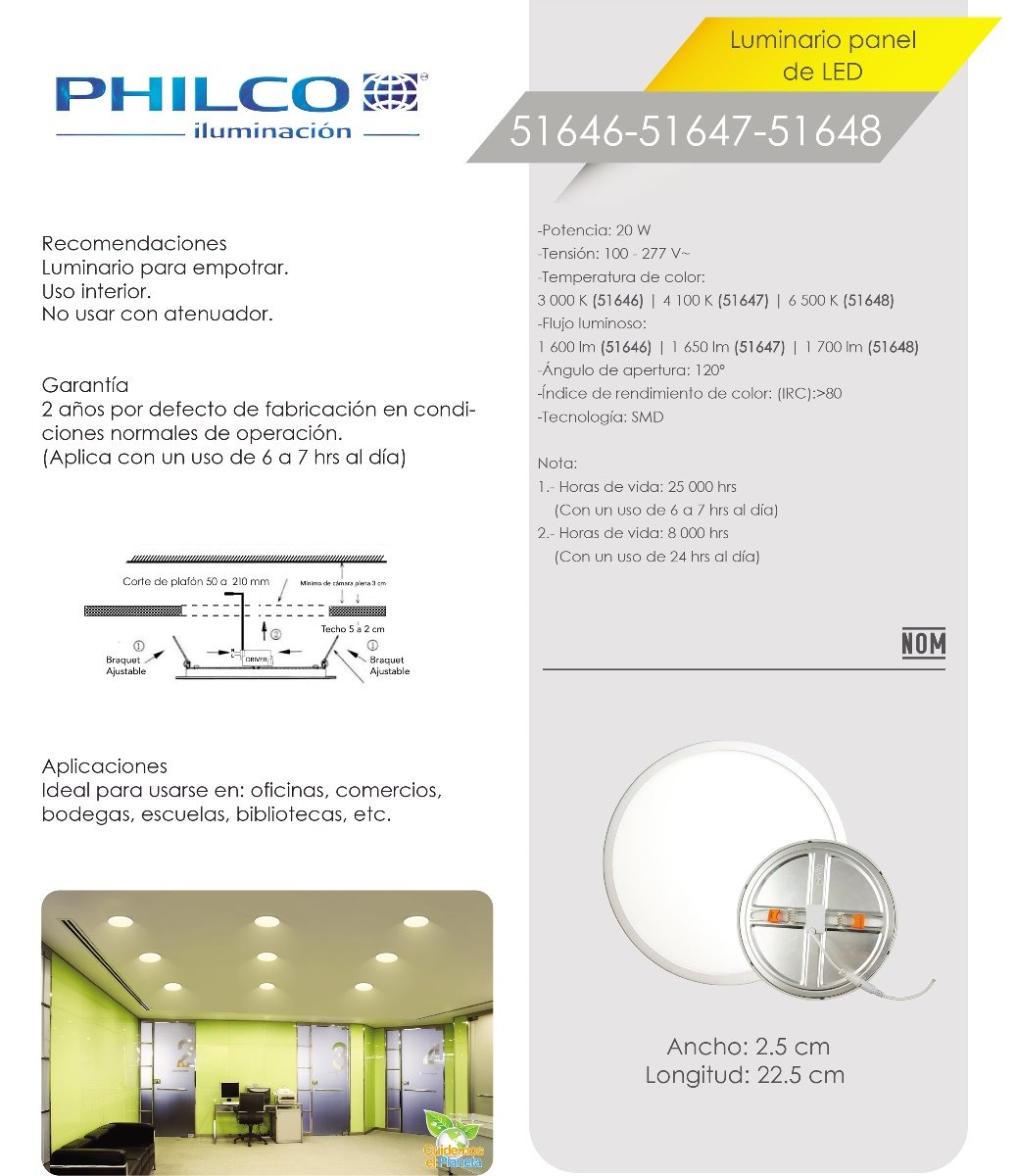 plafon empotrar 20w led ajustable downlight panel 100-277v  cargando zoom