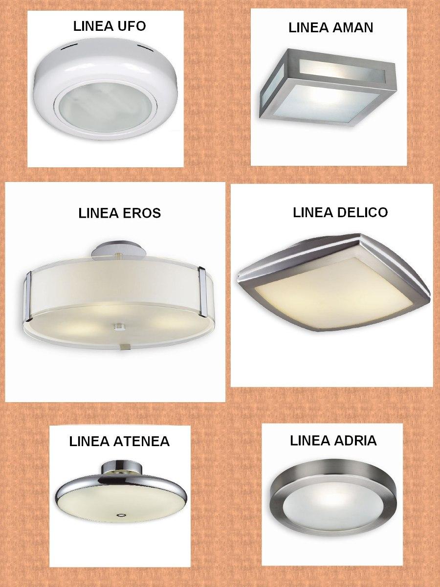 Plafon Fluorescente 3x36w Dulux Con Difusor Acrilico 2 200 00  ~ Plafones Fluorescentes Para Cocina