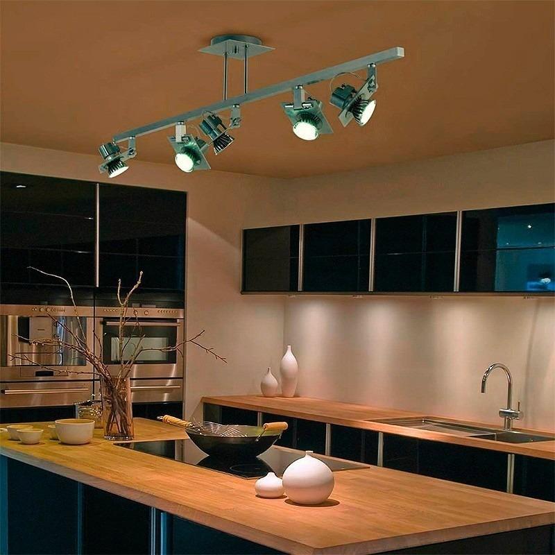 Plafon Iluminacion Techo Aplique 5 Luces Spot Envio Gratis 5140 - Iluminacion-de-techo