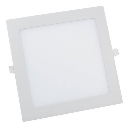 plafon led 25w luminária embutir natural 4000k 4500k