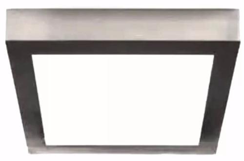plafon led acero 12 w completo para instalar **!!!