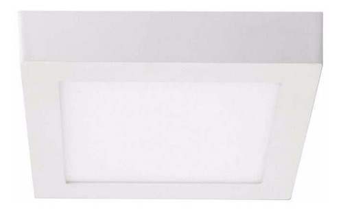 plafón led de sobreponer 18w blanco frío envío gratis @lb2