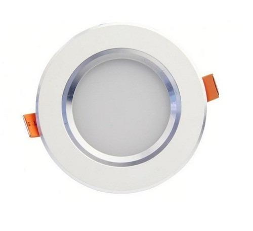 plafon led dimeable 5w, control remoto, luz fria-neutral-cal