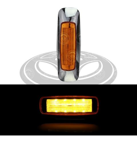 plafon led plasma laser laterales estrobo camion ambar f1