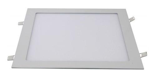 plafon led quadrado 24w painel embutir slim avant 1ª linha